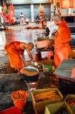 Świeczka festiwal roczny festiwal Nakhon Ratchasima Obraz Royalty Free