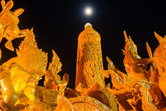 Świeczka festiwal Ubonratchathani Zdjęcia Stock