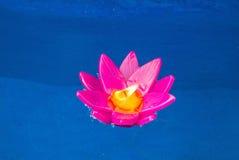 Świeczka Krathong w Tajlandia Obrazy Royalty Free