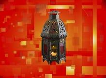 Świeczka lampion Fotografia Stock