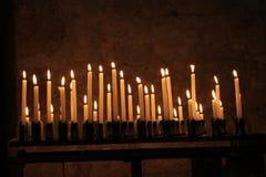 Świeczka nadzieja Fotografia Royalty Free