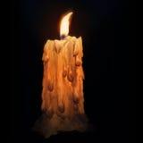świeczka zmrok Obrazy Stock
