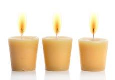 świeczki Zdjęcie Royalty Free