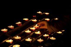 świeczki Obraz Royalty Free