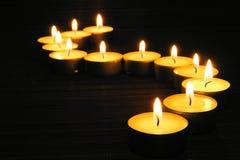 świeczki Zdjęcia Royalty Free