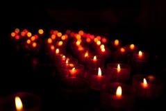 świeczki Zdjęcie Stock