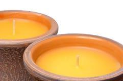 świeczki citronella Obrazy Stock