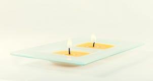świeczki dekoracyjne Obraz Stock