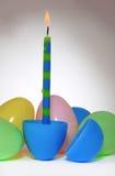 świeczki Easter jajko Obrazy Stock