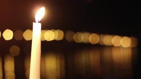 Świeczki i most zbiory