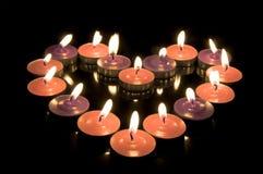 świeczki kierowe zdjęcie stock