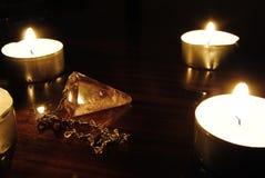 świeczki klejnot Zdjęcie Stock