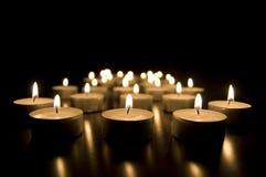 świeczki konceptualnych wizerunek Obraz Stock