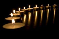 świeczki konceptualnych wizerunek Fotografia Stock