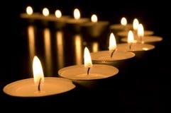 świeczki konceptualnych wizerunek Obrazy Stock