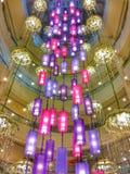 Świeczki lampa Fotografia Stock