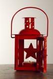Świeczki lampa Zdjęcia Stock