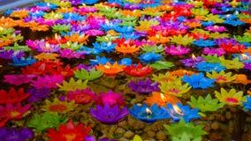 Świeczki lotosowe Obraz Stock