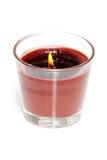 świeczki perfumowanie czekoladowy cynamonowy Obrazy Royalty Free