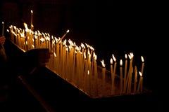 świeczki religii Zdjęcia Stock