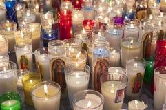 świeczki religijne Obraz Royalty Free