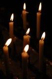 świeczki siedem Fotografia Royalty Free