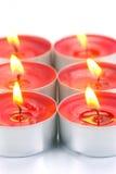 świeczki tealight Zdjęcie Royalty Free