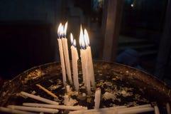 Świeczki w Jerozolima Zdjęcie Royalty Free