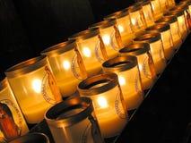 świeczki wotywne Obrazy Stock