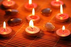 świeczki zapachowe kamyczek Fotografia Royalty Free