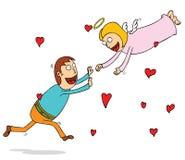 Wiecznie miłość ilustracja wektor
