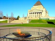 Wiecznie płomień świątynia wspominanie Fotografia Stock