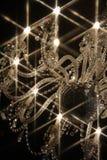 świecznik gwiazda Obrazy Royalty Free