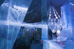 świecznik lodowaty Zdjęcie Royalty Free