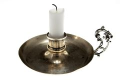 świecznikiem Obraz Royalty Free