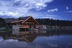Wiecznozielony jezioro w Kolorado Zdjęcia Stock