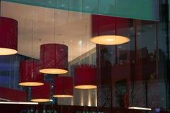 wieczorem abstrakcyjne budynku. Fotografia Royalty Free