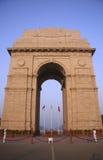 wieczorem indu delhi bramy nieba Fotografia Royalty Free