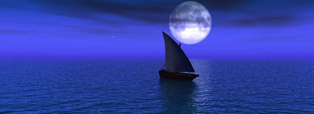 wieczorem morze royalty ilustracja