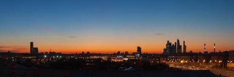 wieczorem Moscow Fotografia Stock