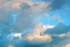 wieczorem niebo Obrazy Stock