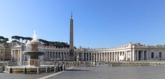 wieczorem Watykanu Zdjęcia Royalty Free