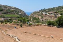 Wied Babu Zurrieq Malta Obrazy Royalty Free