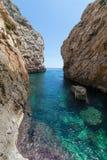 Wied Babu Zurrieq Malta Obraz Royalty Free
