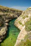 Wied il-Ghasri, Gozo, Malta. Wied il-Ghasri, Gozo island, Malta Royalty Free Stock Photography