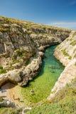 Wied il-Ghasri, Gozo, Malta. Wied il-Ghasri in Gozo, Malta Royalty Free Stock Photography