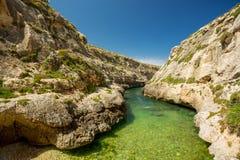 Wied il-Ghasri, Gozo, Malta. Wied il-Ghasri, Gozo island, Malta Royalty Free Stock Image