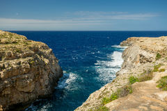 Wied il-Ghasri, Malta Royalty Free Stock Photos