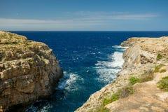 Wied il, Malta Zdjęcia Royalty Free