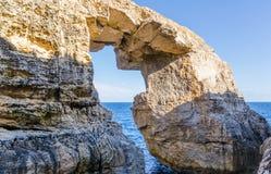Wied il-Mielah - Gozo, Malta Royalty Free Stock Photography